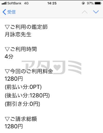 月詠恋先生の鑑定報告